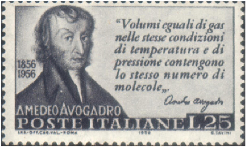 La loi d'Avogadro ou loi des gar parfaits