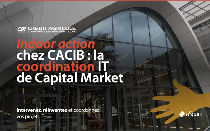 CACIB | Coordination de projets IT - Références clients aSpark Consulting
